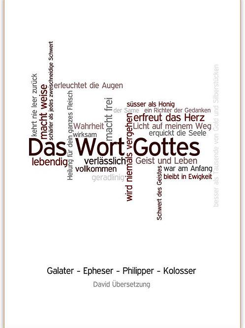 Galater-Epheser-Philipper-Kolosser Brief