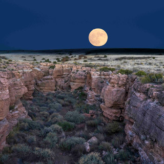 Super Moon Wupatki National Monument, AZ