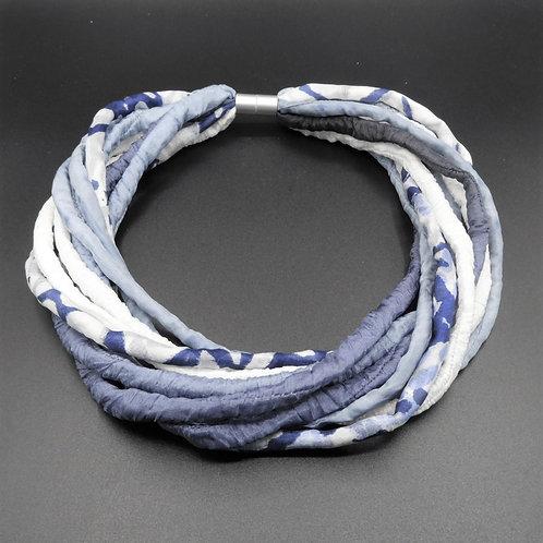 Seidenschnurkette jeans 57cm