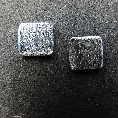 Orecchini Square glitter