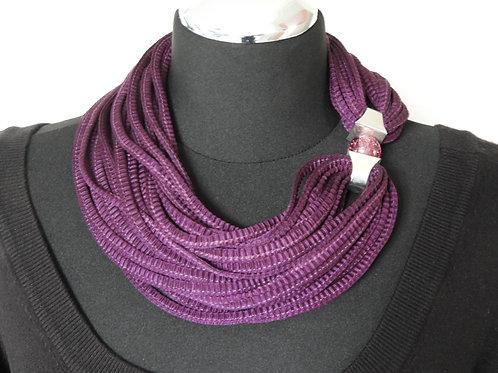 Schnurkette dunkelviolett