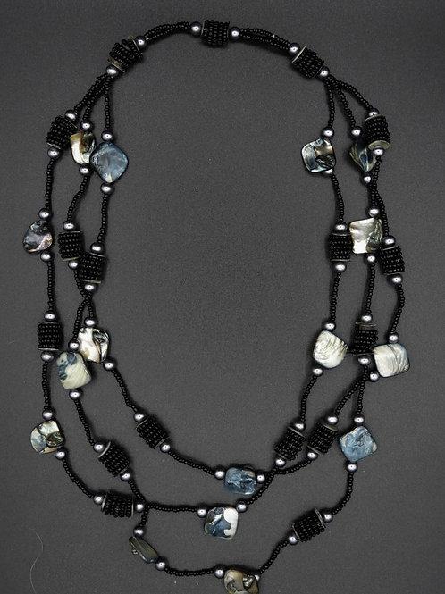 Halskette Paola schwarz