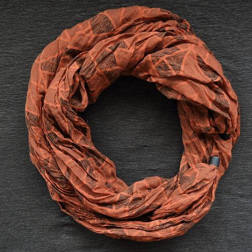 Collana di cotone Arancione