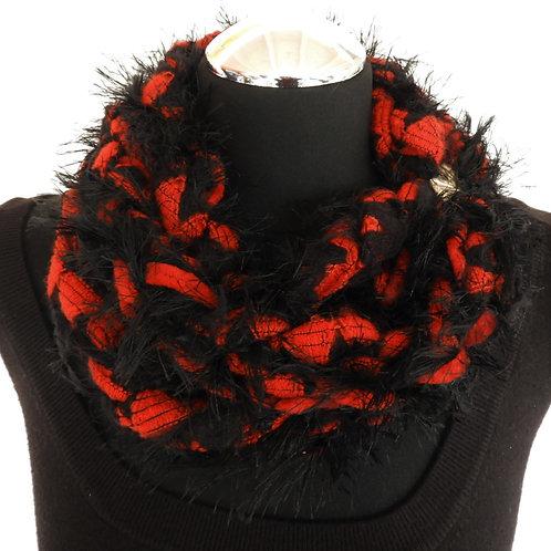 Collana invernale rot/schwarz