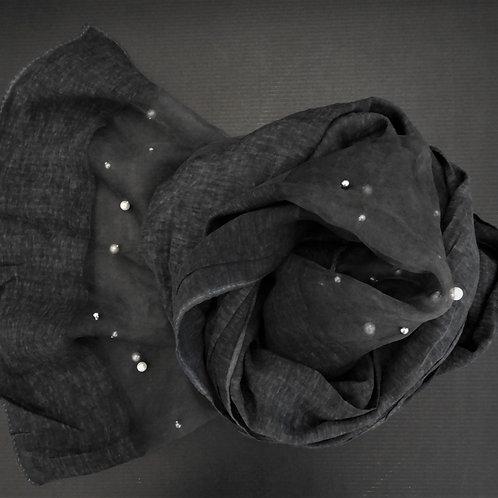 Sciarpa-Perla Nera