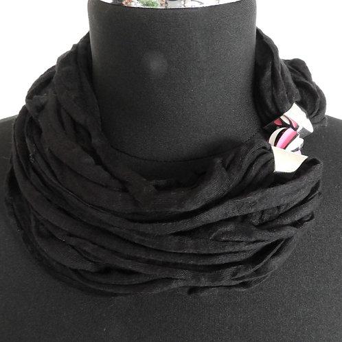 Schnurkette schwarz