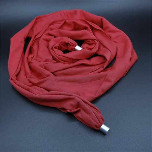 Collana Jersey rosso