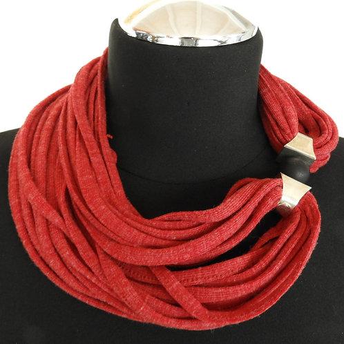 Schnurkette rot 3