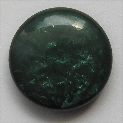Cabochon Marmor tannengrün