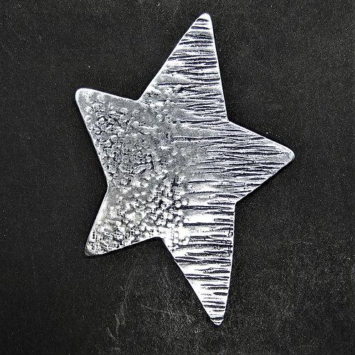 Stern Fantasie silber