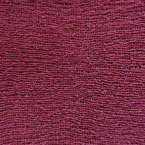 Rundschal-Strick  framboise