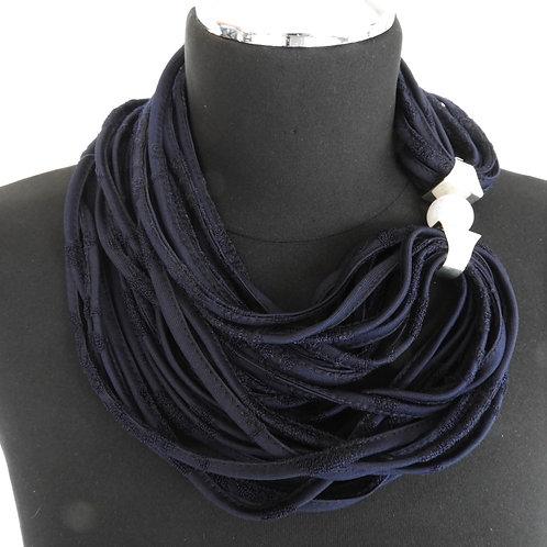 Schnurkette dunkelblau
