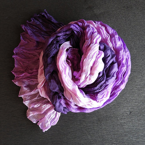 Seidencrash violett