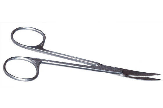 11-101 Knapp Curved Strabismus Scissors