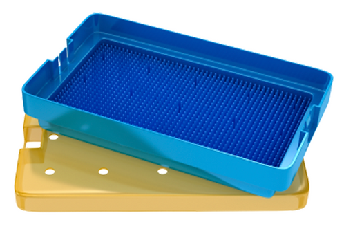 18-304. Sterilizing Tray With Silicone Finger Mat