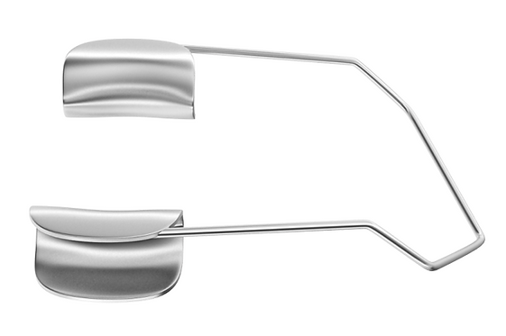 14-0221 Barraquer Speculum With Solid Blades Adult Size 14mm Blades