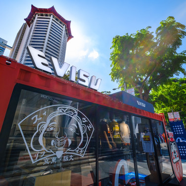 EVISU Pop Up Store @ Ion Orchard