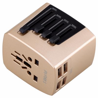 Momax 1-World 4 USB 旅行插座 UA3