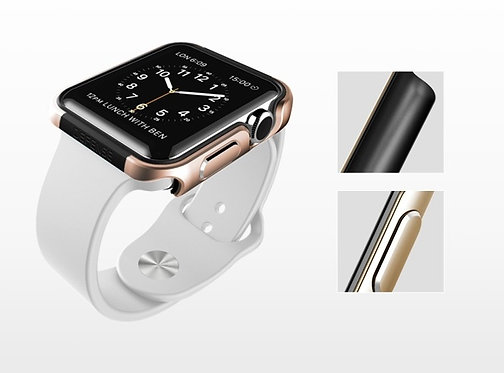 Defense Apple Watch金屬邊保護殼