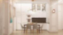 кухня  дизайн интерьера архитектор Юлия Анатольевна Журавель Днепр  комфорт сити