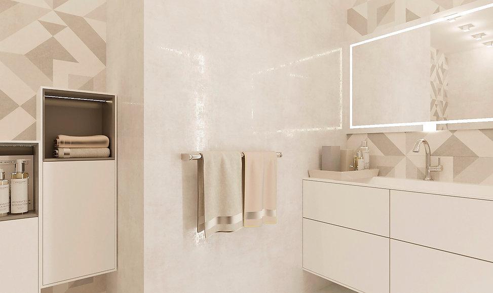 ванная комната  дизайн интерьера архитектор Юлия Анатольевна Журавель Днепр