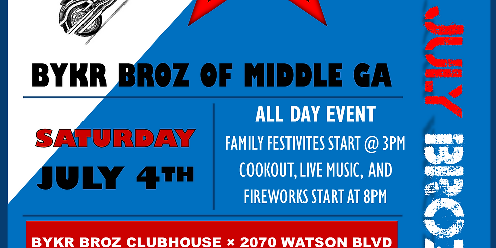 4TH OF JULY BASH