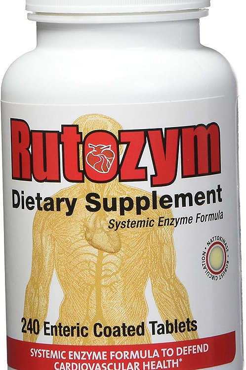 Rutozym Systemic Enzymes 240 Capsules