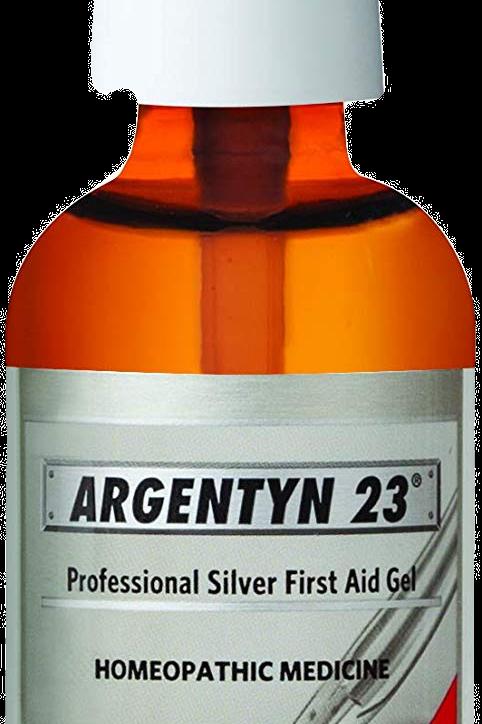 Argentyn First Aid Gel 2 Oz Pump