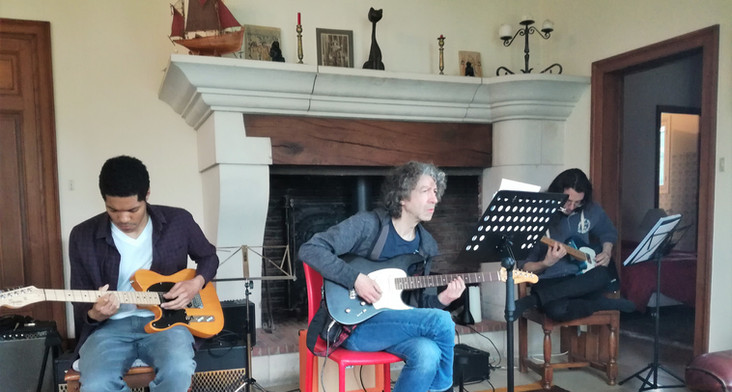 Atelier stage guitare jazz