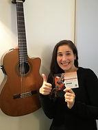 Joséphine Drai formation afdas guitare