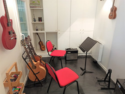 Salle des cours de guitare
