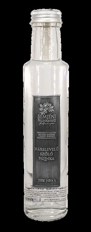 Semjéni - hárslevelű szőlő pálinka - 0,250l