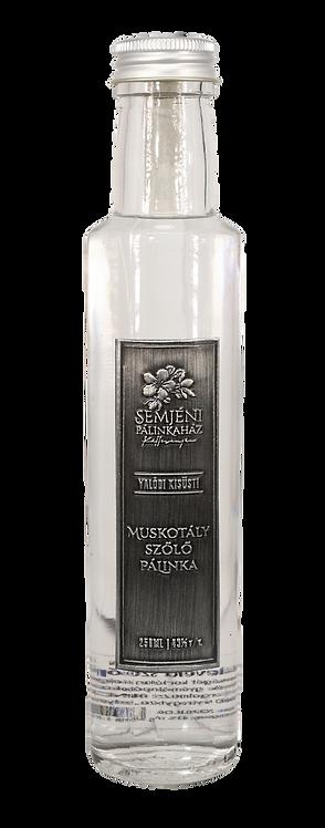Semjéni - muskotály szőlő pálinka - 0,250l