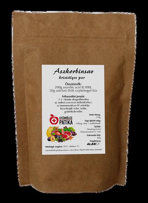 Aszkorbinsav (C-vitamin) csipkebogyóval 250g