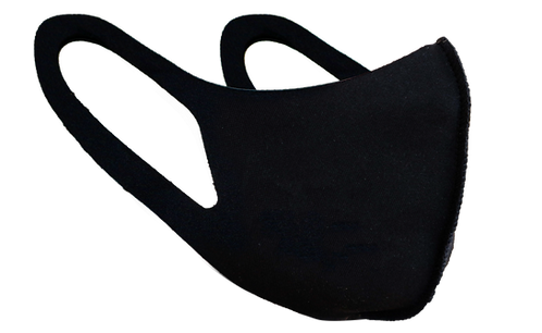 FEKETE - SPANDEX MASZK (logó nélkül)