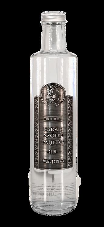 Semjéni - kabar szőlő pálinka - 0,5l