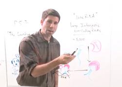 Image of John Rinn on whiteboard
