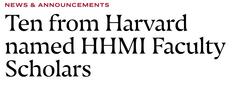 Image of John Rinn Harvard Gazette news story