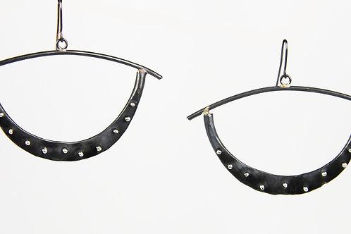 Forged Hoop earrings