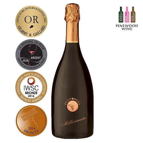 Punto Rosa Brut Spumante 維多卡酒莊 紅點 玫瑰紅氣泡酒 (750ml)
