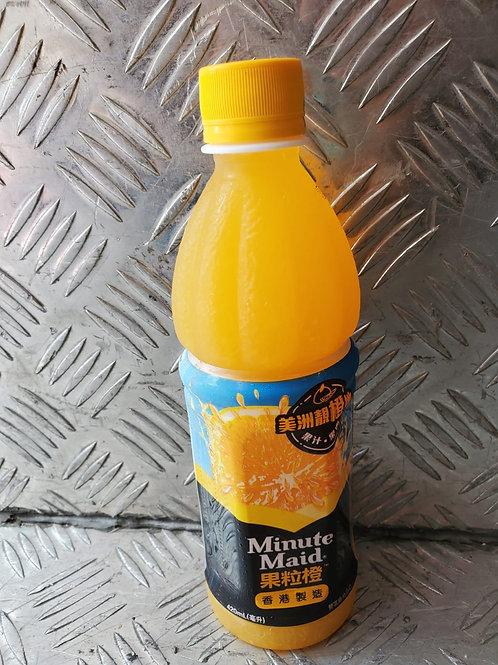 Minute Maid 果粒橙 (420ml/1箱24枝)