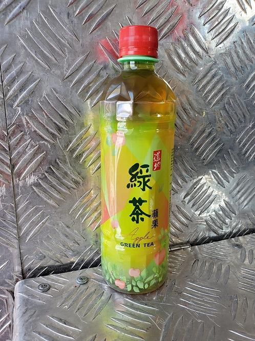 道地蘋果綠茶 (500ml/1箱24枝)