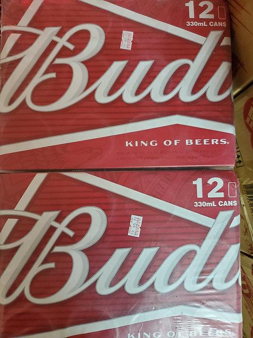 百威啤酒 (330ml/1箱24罐)