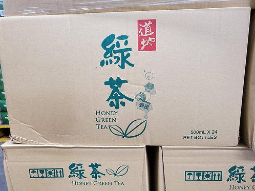 道地蜂蜜綠茶 (500ml/1箱24枝)