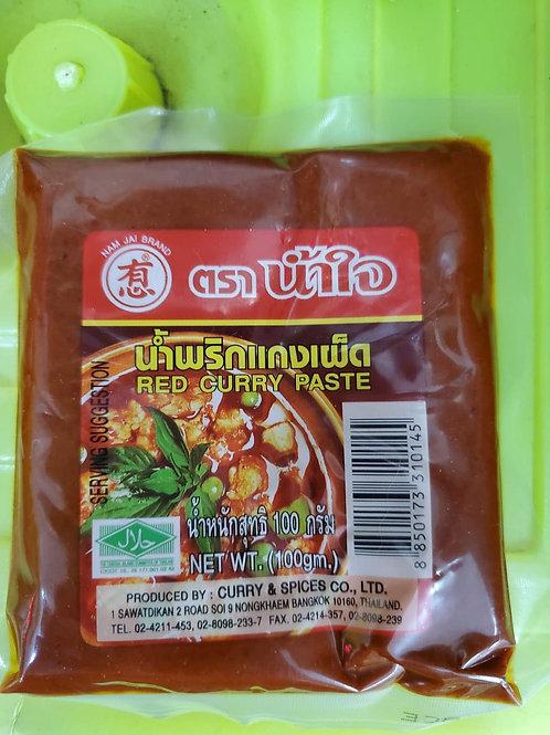 泰國紅咖喱膏 (100g)