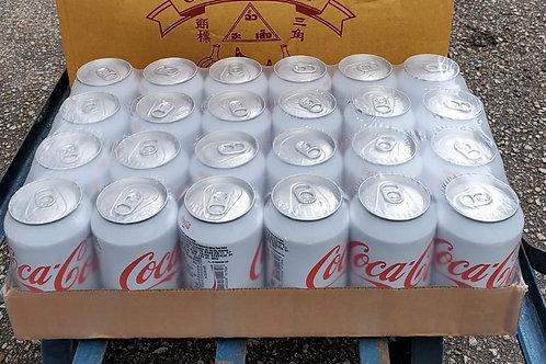 可口可樂 (Plus) (330ml/1箱24罐)