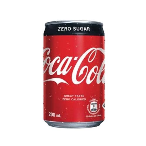 Mini 迷你版可口可樂 (Zero) (200ml/1箱24罐)