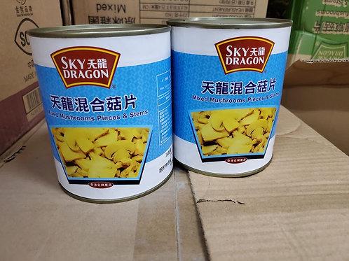 天龍牌混合菇片 (850g)