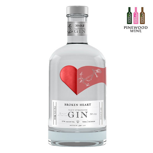 Broken Heart Navy Strength Gin 撕心氈酒 海軍氈酒 (700ml)