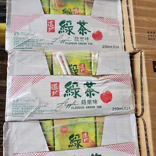 道地蘋果綠茶 (250ml/1箱24包)